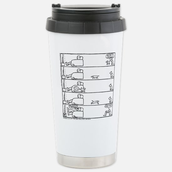 High Five Stainless Steel Travel Mug