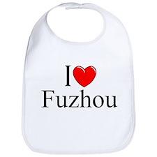 """""""I Love Fuzhou"""" Bib"""