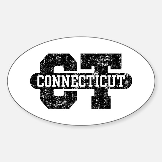 Connecticut Sticker (Oval)