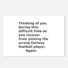 Joke Sympathy Fantasy Foo Postcards (Package of 8)