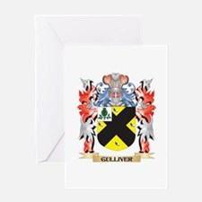 Gulliver Coat of Arms - Family Cres Greeting Cards