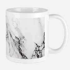 White Marble Mugs