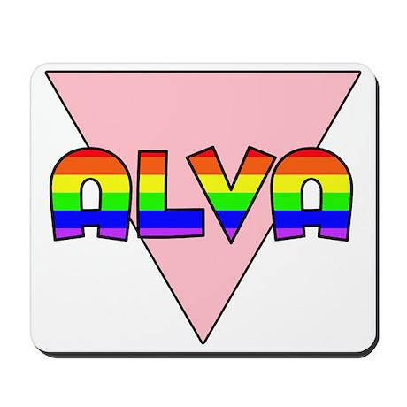 Alva Gay Pride (#002) Mousepad