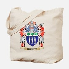Hackett Coat of Arms - Family Crest Tote Bag