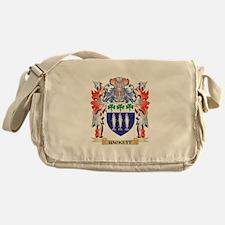 Hackett Coat of Arms - Family Crest Messenger Bag
