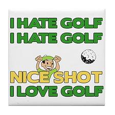 Golf Fun Tile Coaster