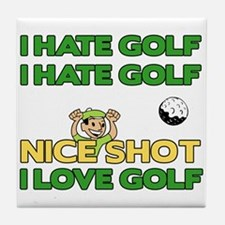 Golf Fun Tile Coaster