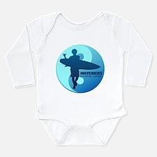 Mavericks-Half Moon Bay (blue) Body Suit