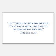 Ironworkers / Genesis Sticker (Rectangle)
