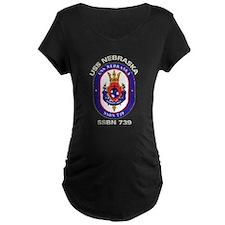 USS Nebraska SSBN 739 T-Shirt