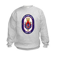 USS Nebraska SSBN 739 Sweatshirt