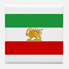 Flag of Persia / Iran (1964-1980) Tile Coaster