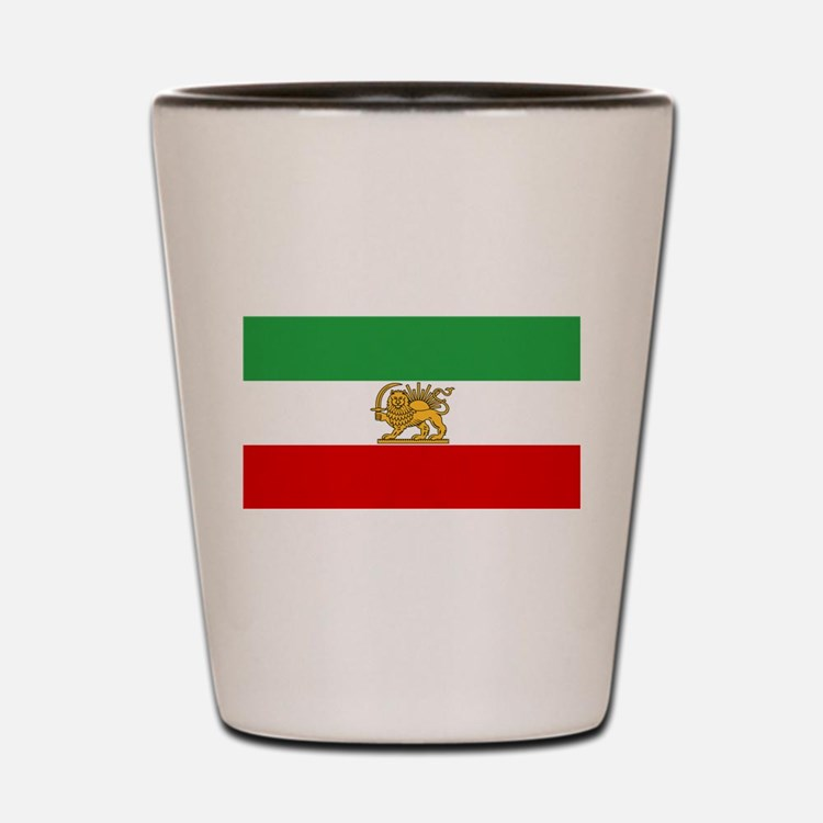 Flag of Persia / Iran (1964-1980) Shot Glass