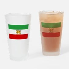 Flag of Persia / Iran (1964-1980) Drinking Glass
