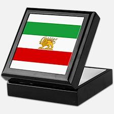 Flag of Persia / Iran (1964-1980) Keepsake Box