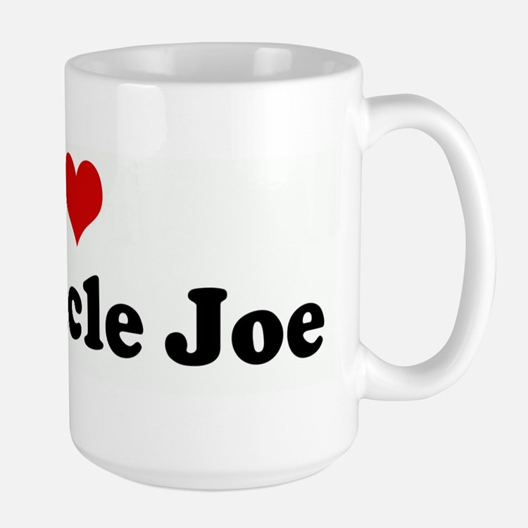 I Love My Uncle Joe Mugs