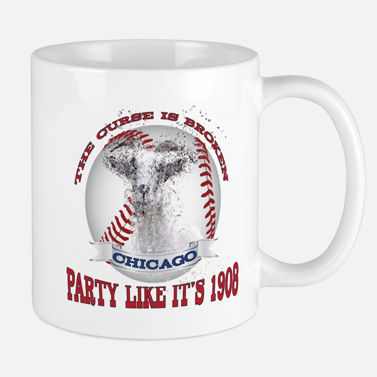 Chicago Baseball Party like it's 1908 Goa Mugs