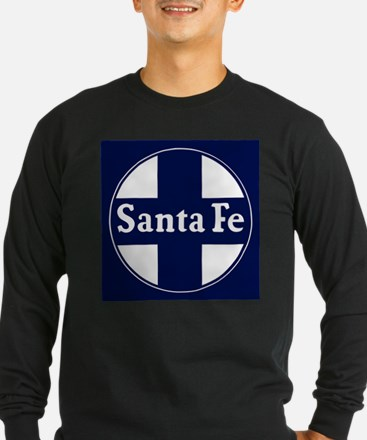 Santa Fe Railroad - background Long Sleeve T-Shirt