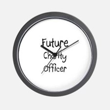 Future Charity Officer Wall Clock