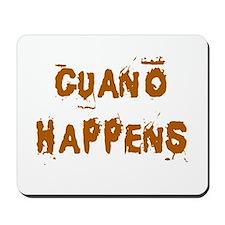 Guano Happens Mousepad