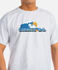 Corolla NC - Waves Design T-Shirt