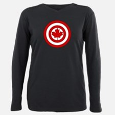 Funny Funny canadian Plus Size Long Sleeve Tee