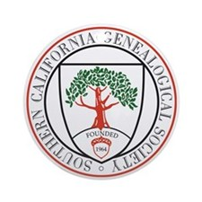 SCGS Logo Keepsake (Round)