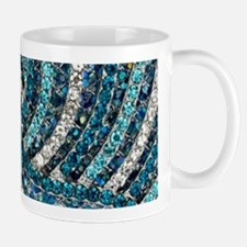 bohemian crystal teal turquoise Mugs