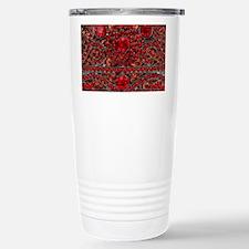 bohemian gothic red rhi Stainless Steel Travel Mug