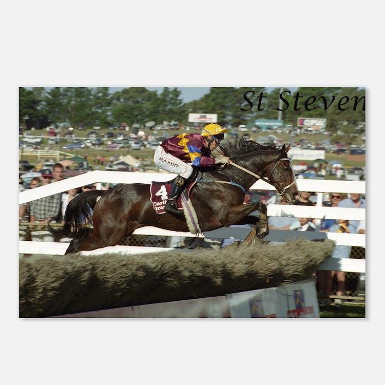 Cute Jumps racing Postcards (Package of 8)