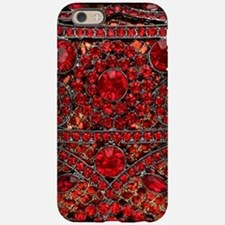bohemian gothic red rhinest iPhone 6/6s Tough Case