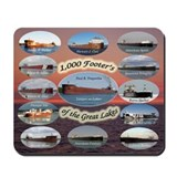 1000 footers Mouse Pads