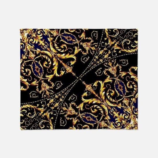 Baroque Throw Blanket