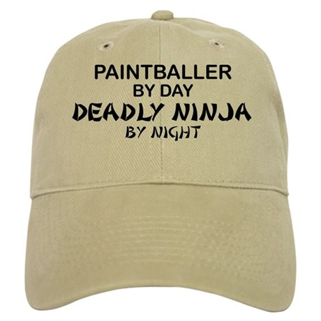 Paintballer Deadly Ninja Cap