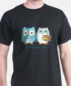 Owls Wedding T-Shirt