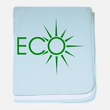 Eco baby blanket