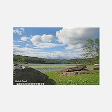 Hatch Pond - late summer Rectangle Magnet