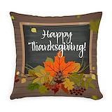 Thanksgiving Burlap Pillows