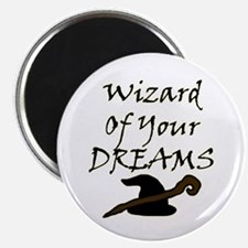 Wizard Of Your Dreams (Black) Magnets