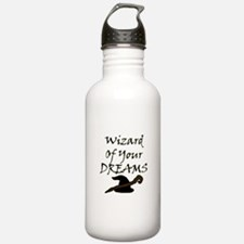 Wizard Of Your Dreams (Black) Water Bottle