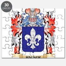 Hauser Coat of Arms - Family Crest Puzzle