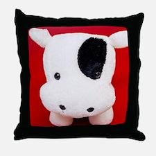 Cute Plush cow Throw Pillow