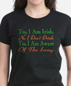 Ironic Sober Irish Tee