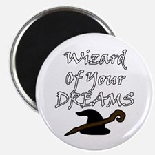 Wizard Of Your Dreams (White) Magnets