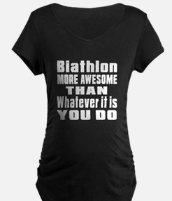 Biathlon More Awesome Than T-Shirt
