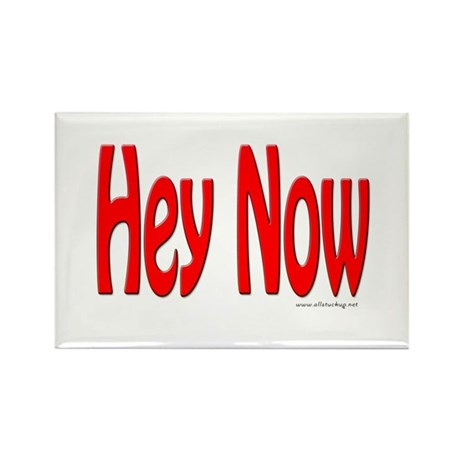 Hey Now Rectangle Magnet (100 pack)