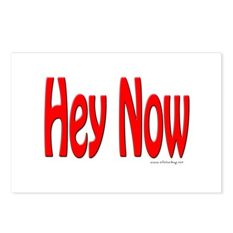 Hey Now Postcards (Package of 8)