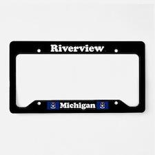 Riverview MI - LPF License Plate Holder
