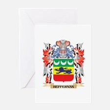 Heffernan Coat of Arms - Family Cre Greeting Cards