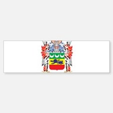Heffernan Coat of Arms - Family Cre Bumper Bumper Bumper Sticker